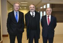 Federico Valdés, Eduardo Bitrán y Hernán Cheyre