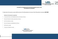 Horario Salas de Estudio Exámenes Finales