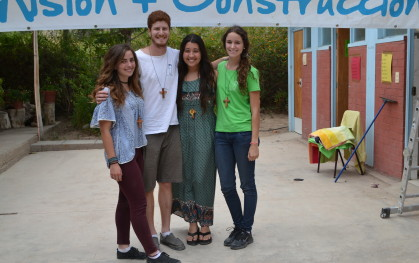 DSC_0110 Rosario Dontech (Diseño), Germán Picó (Derecho), Emily Holger (Medicina) y Susana Errázuriz (Medicina).