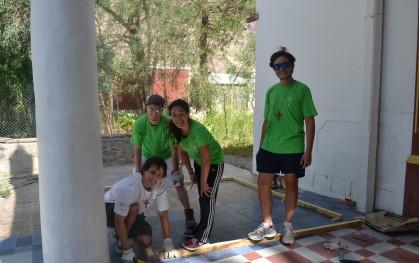 DSC_0150 José Zepeda (Medicina), Agustín Valdivieso (Arquitectura), Catalina Fernández (Kinesiología) y Francisco Eyzaguirre (Ingeniería Comercial).