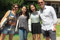 Bienvenida alumnos internacionales - Santiago