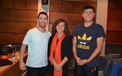 Marcelo Acuña, Carola Fuentes, Ignacio Luarte