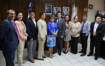 Misión OPS en El Salvador