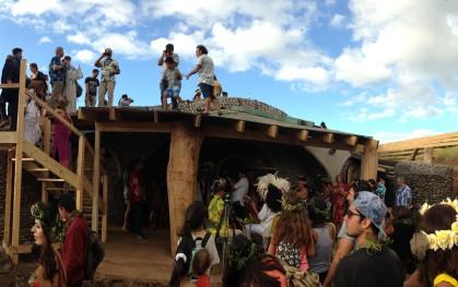 Decano de Arquitectura en inauguración de escuela en Rapa Nui