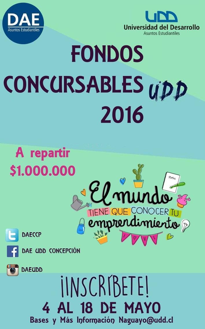 fondos concursables 2016 afiche