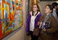 Inauguración galería de arte en campus Ainavillo