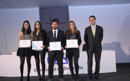 Premiación alumnos y profesores 2015 Santiago
