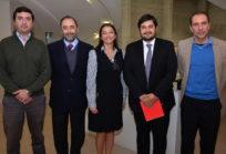Rodrigo Troncoso, Eugenio Guzmán, Nora Au, Carlos Melo, Louis de Grange