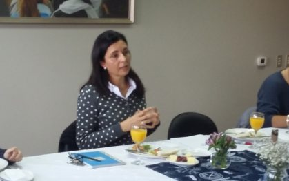 Florencia Jofré, Vicerrectora UDD