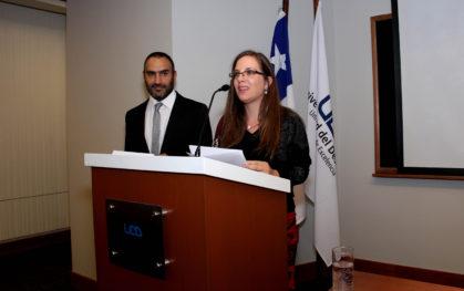 Eduardo Torres y Daniela Gloger