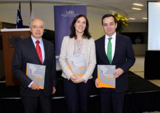 Hernán Cheyre, Vesna Mandakovic, Luis Felipe Céspedes