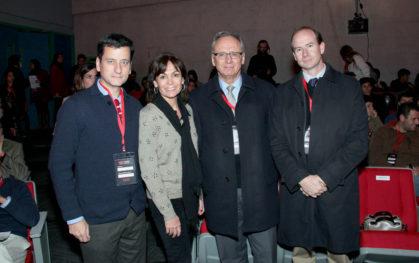 Pablo Allard, carolina Mardones, José manuel Robles y Fernando Rojas