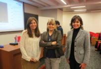 Karim Gálvez, Sandra Cruccianelli y Carolina Mardones
