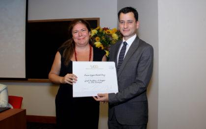Susana Alvarado, alumna excelencia 2013