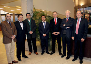 Eugenio Guzmán, Luis Riveros, Mauro Salazar, Mauricio Bravo, Federico Valdés, José Joaquín Brunner, Pedro Pablo Rosso
