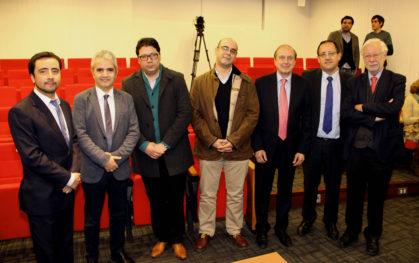 Mauricio Bravo, Ricardo Paredes, Mauro Salazar, Fernando Atria, Pedro Pablo Rosso, Harald Beyer, José Joaquín Brunner