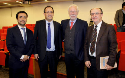 Mauricio Bravo, Harald Beyer, José Joaquín Brunner, Cristian Larroulet