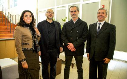 Yury Grigoryan, Julio Nazar y Óscar Mackenney