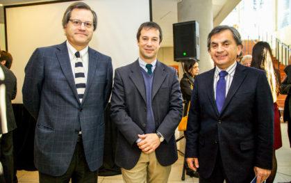 Ricardo Ronco, Lucas Palacios y Sergio Hernández