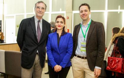 José María Ezquiaga, Belinda Tato y Rafael Borge