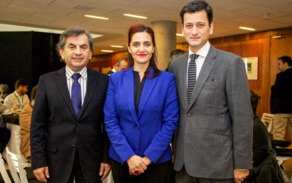 Sergio Hernández, Belinda Tato y Pablo Allard