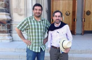 Juan Pablo y Pepe en Duke University