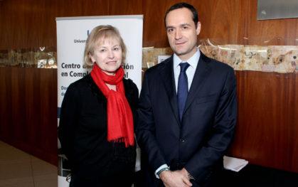 Denise Saint-Jean y Juan Eduardo Vargas