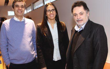Pablo González, Soledad Arellano y Pedro Montt