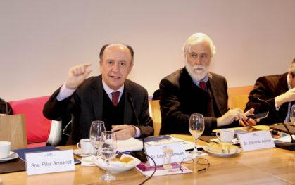 Cristián Larroulet y Eduardo Aninat