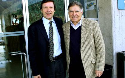 José Pablo Arellano y Ernesto Tironi