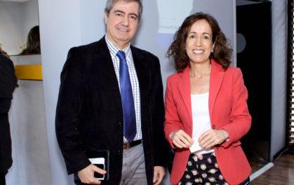 Claudio Maggi y Josefina Santa Cruz