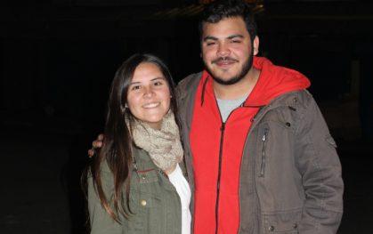 Bernardita Arce y Sebastián Lizana, jefes Vive la Calle