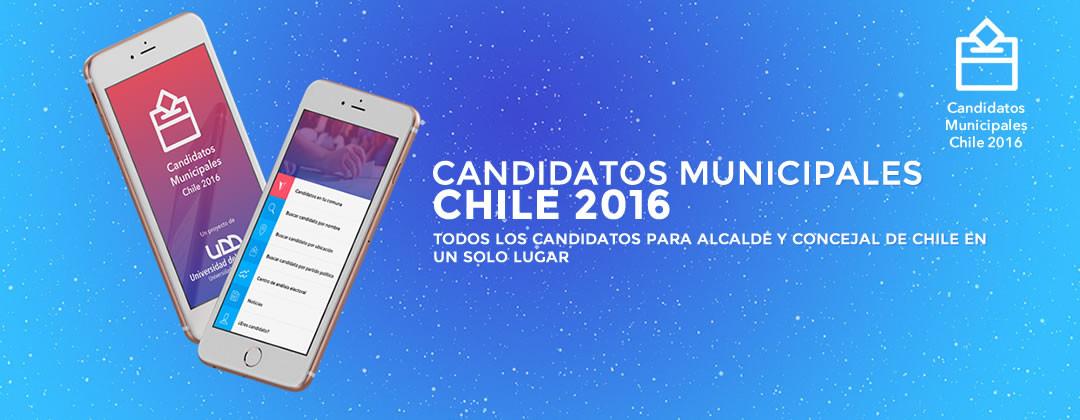 Aplicación de candidatos municipales