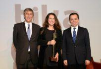 Luis Enrique Álamos, Carolina Echenique de Tika y el ministro Luis Felipe Céspedes