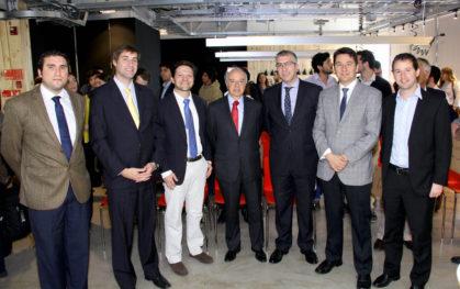 Tomas Serey, Daniel Contesse, Antonio Lecuna, Hernán Cheyre, Inti Nuñez, Carlos Albornoz y Cristian Figueroa