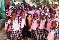 Melissa Villarreal en Haití