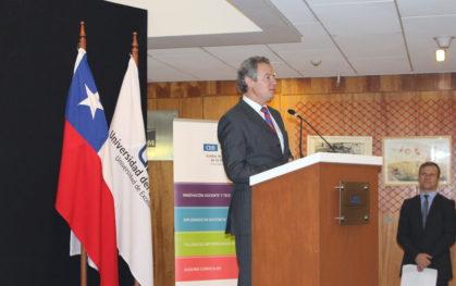 Federico Valdés Lafontaine, rector Universidad del Desarrollo