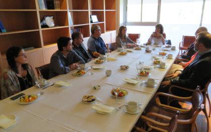 Desayuno premio 'Dr. Luis Tapia Villanueva'