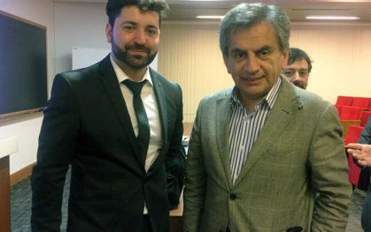 Cristian Candia y Sergio Hernández