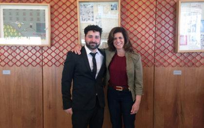 Cristian Candia y Leda Cosmides