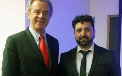 Federico Valdés y Cristian Candia