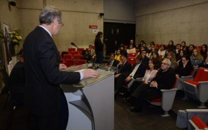 Ceremonia Becas Iberoamérica Santander Universidades