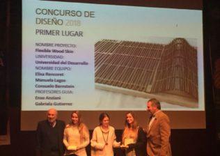 Ganadores Diseño concurso ' Semana de la Madera'