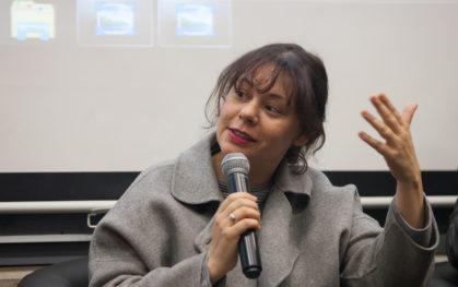 """Nayra Ilic, actriz, directora, productora, guionista y montajista. """"Se arrienda"""" (2005)"""