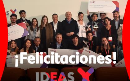 Premiación Ideas X