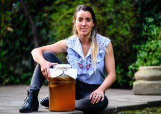 Camila Acuña, co creadora de Ghali Kombucha