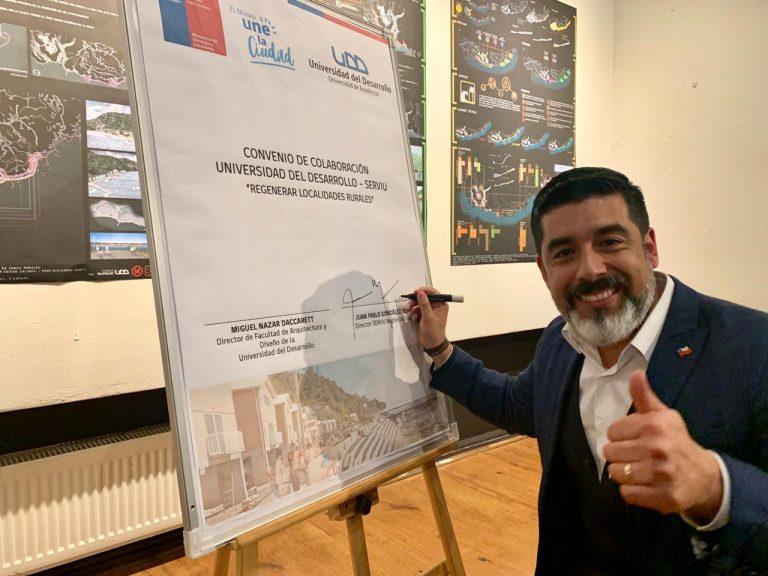 Arquitectura y Serviu firmaron convenio que busca regenerar localidades rurales
