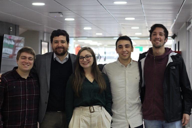 Voluntarios convocados por INJUV Biobío se cuadran con APEC Chile