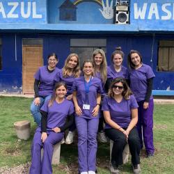 Equipo de Nutrición y Dietética UDD realiza intervención en el Cusco