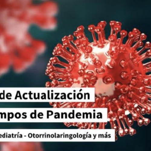 Concluyó curso de Actualización en Tiempos de Pandemia